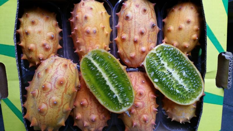 Kiwano / Horned melon  / teelt: regulier  Frankrijk/  / 8 stuks