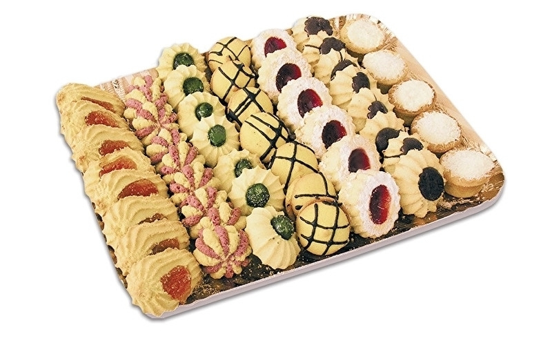 Italiaanse Koekjes gemengd / vassoio di biscotti misti / tray 1 kilo/ t.h.t 28-02-2022