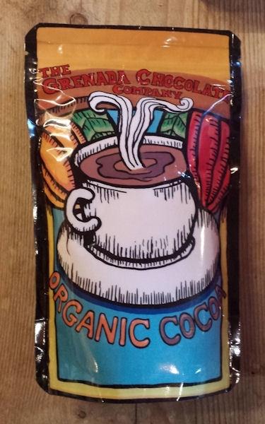 Grenada Chocolate Company | Cacao poeder, origine chocolate / jack pressed / BIO /  170 g / tijdelijk niet beschikbaar