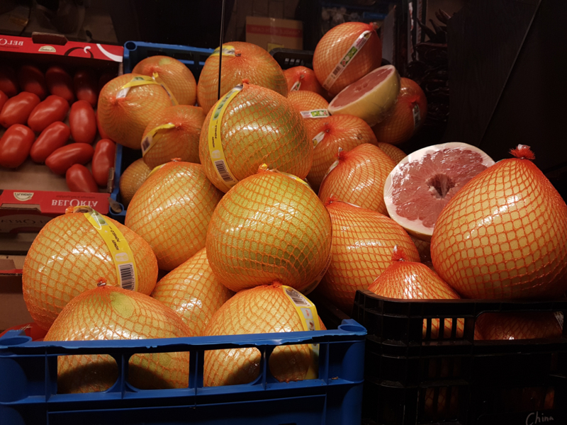 POMELO | HONEY | TEELT REGULIER | China | Doos 11 stuks (11kilo)