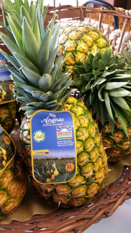 Extra sweet ananas | Costa Rica / per doos 6 stuks (11,5 kilo)