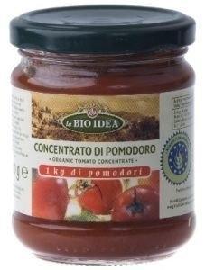 Tomatenpuree 22% /  Concentrato di pomodoro / biodea / Italië / Biologisch / glas-pot / 200gram / t.h.t. 31-12-2021