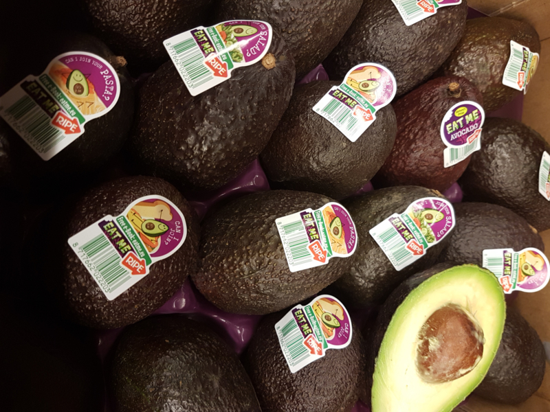 HASS AVOCADO | READY TO EAT / EETRIJP | CHILI  / doos 18 stuks ( 4 kilo)