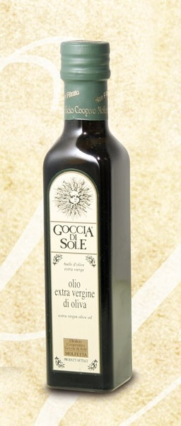 Olijfolie extra vergine Goccia di sole uit Apulië 0,5 L / t.h.t. 28-11-2021