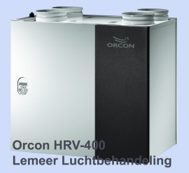 Orcon HRV-275 (met bypass)  Orcon HRV-400 filters (1 set)  afmeting 49 x 23 cm