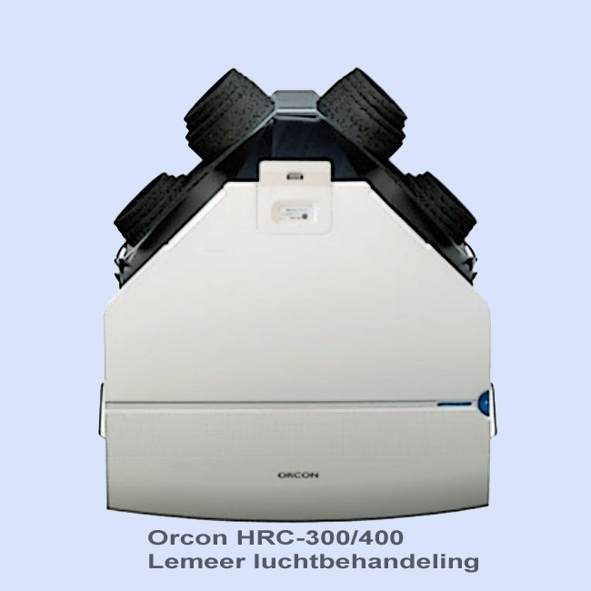 Orcon HRC-300/400   Orcon HC-4BP/BR filters (1 set)  afmeting 32,5 x 49,4 cm knikframe