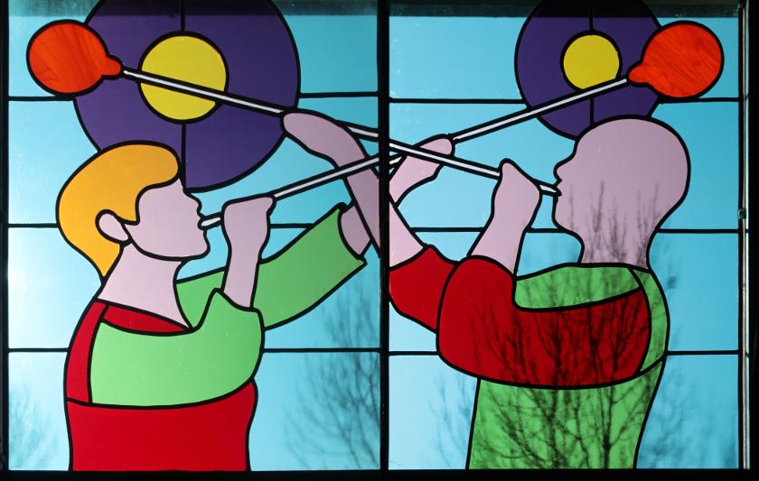glas-in-lood glaskunst katinka waelbers