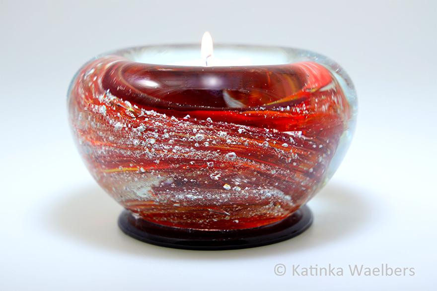 waxinelicht crematie as