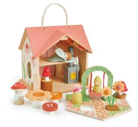 Tender Leaf Toys Poppenhuis Rosewood Cottage   15-delig