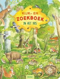 Deltas Kijk- en zoekboek In het bos