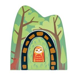 Tender Leaf Toys speelset Bostunnel