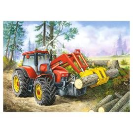Puzzel Tractor in het Bos, 60st.