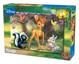 King legpuzzel Bambi 24 st.