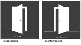 Houten Poortdeur  Vuren Geimpregneerd 180 cm hoog