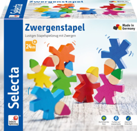 Selecta Spielzeug stapelspeelgoed Dwergen 7-stuks