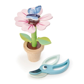 Tender Toys speelset bloempot junior 15-delig