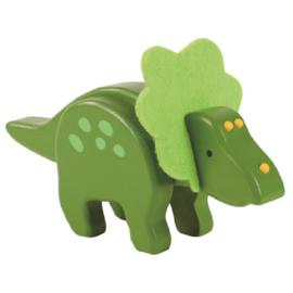 Everearth speelfiguur dino groen 18x8x5 cm