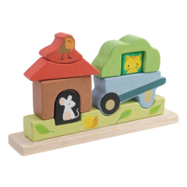 Tender Leaf Toys magneetpuzzel Tuin hout junior 23 x 44 x 12,5 cm