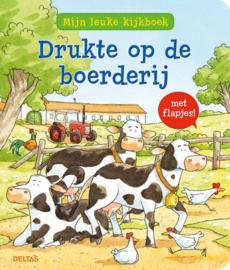 Deltas Mijn leuke Kijkboek - Drukte op de boerderij