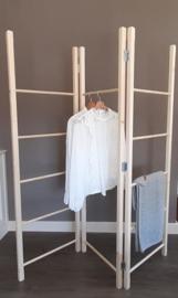 Houten wasrek / kledingrek