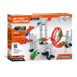 Clementoni Wetenschap en Spel Action and Reaction Kogelbaan Starter Set