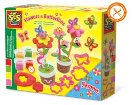SES Creative Klei Geurende bloemen en vlinders