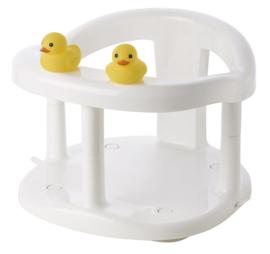 Saro babybadstoeltje Duckies  32 x 28 cm wit