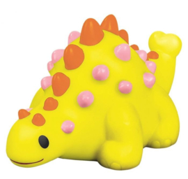 Moses Baddier Dino met licht Geel