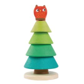 Tender Leaf Toys stapelaar Denneboom hout junior