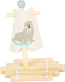 Small Foot Badspeelgoed Vlot Walrus