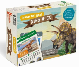 Rebo Productions Kwartetspel Dino & co