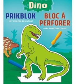 Prikblok Dino + Prikpen en Viltmat