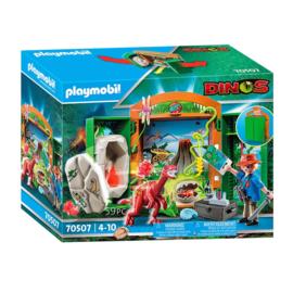 Playmobil 70507 Draagbare Speelbox Dino's