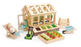 Tender Leaf Toys Speelset Kas en Tuin 27-delig