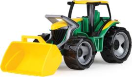 Lena Tractor met voorlader  62 x 22 cm groen/geel