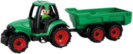 Lena Tractor Truckies 36,5 x 10,5 cm groen/rood