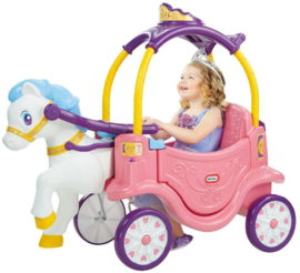 Little Tikes 2-in-1 Princess Horse & Carriage