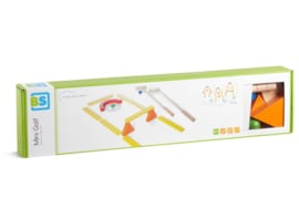 BS Toys mini golfbaan hout 15-delig