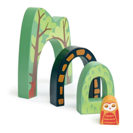 Tender Leaf Toys speelset Bostunnel