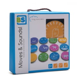 BS Toys kinderspel Moves & Sounds 12-delig