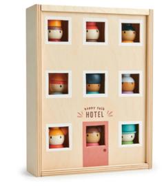 Tender Leaf Toys Happy Folk Hotel  hout 10-delig