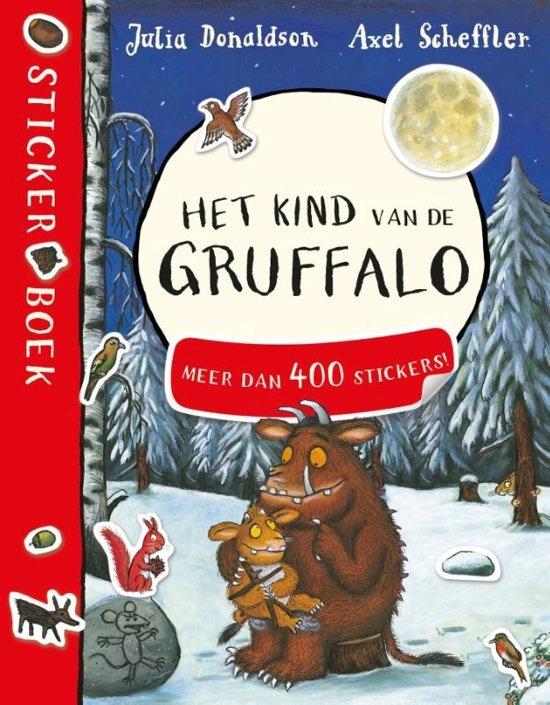 Stickerboek: Het kind van de Gruffalo Stickerboek