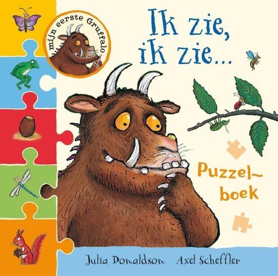 Puzzelboek: Gruffalo Ik zie, ik zie?
