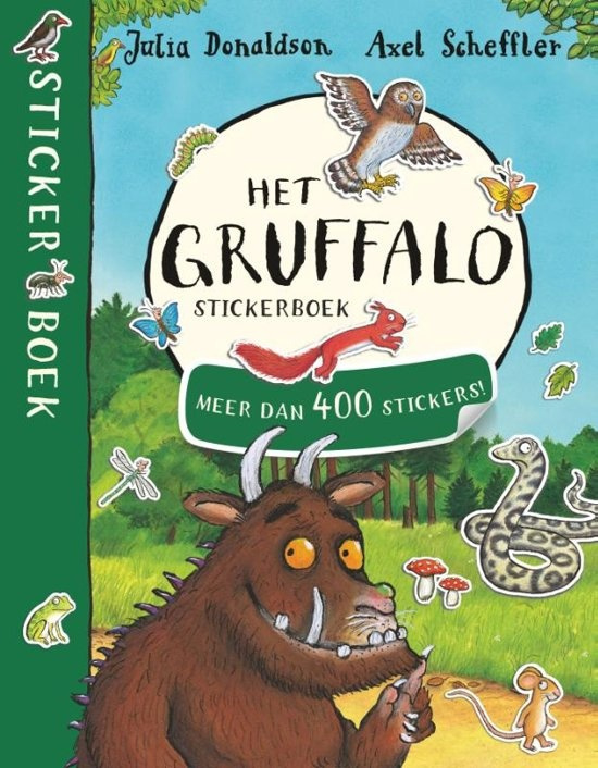 Stickerboek: Het Gruffalo Stickerboek
