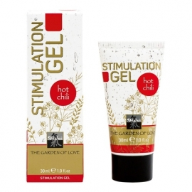 Shiatsu stimulerende gel  Hot Chili