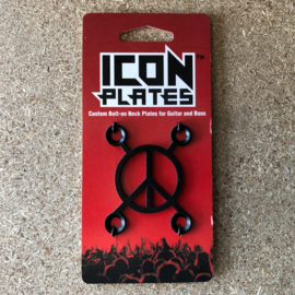 Peace X - Industrial Black - Backplate