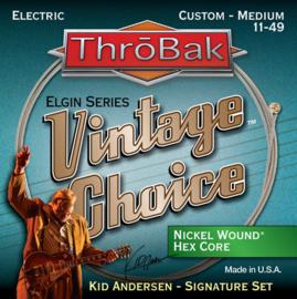 ThroBak Vintage Strings Nickel Wound Hex Core 11-49