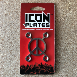 Peace X - Stainless Steel - Backplate