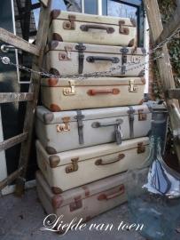 Diverse koffers VERKOCHT