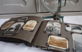 Oud fotoalbum VERKOCHT
